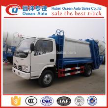 Dongfeng 5 camión de basura de metro cúbico en europa