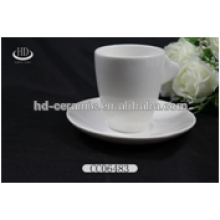 Nice wholesale ceramic coffee cup and saucer,cups sets christmas crafts