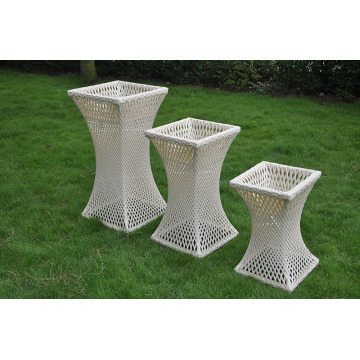 Garden Rattan Flower Pot and Planters