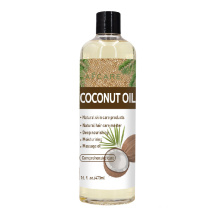 Private Label Beauty Natural Organic Face Hair Care Moisturizing Pure 100% Coconut Oil