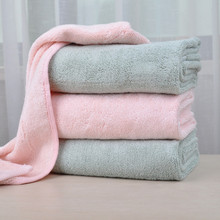 Plain colors Warp Knitting Microfiber car wash towels