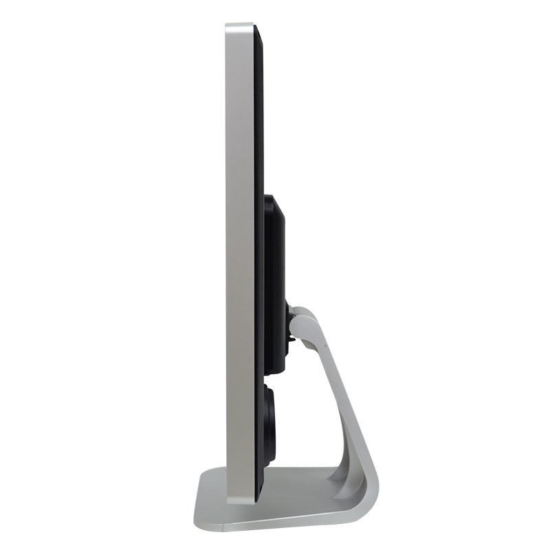 17 inch lcd monitor with metal stand side view