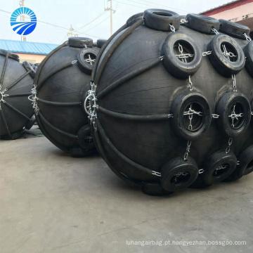 Pára-choque pneumático da borracha do barco da proteção do molhe