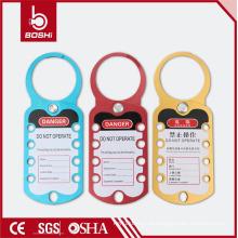 Super-Alumínio Alloy Lockout & Tagout Hasp BOSHI BD-K52., Com todas as cores CE bloqueio de segurança