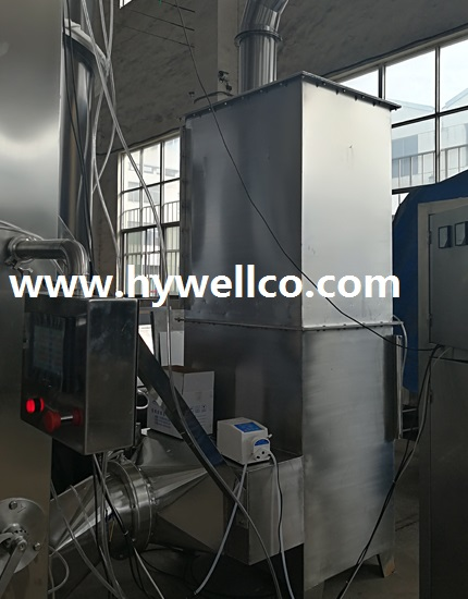 Pharmaceutical Powder and Granule Fluidizing Dryer