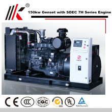 150KW GENERATOR SET MIT SDEC SC7H230D2 DIESELMOTOR GENSET