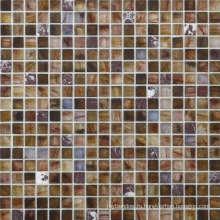 Мозаика из стекла и камня из мрамора
