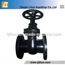 GOST Válvula de compuerta de agua de hierro fundido de 6 pulgadas 30CH6br