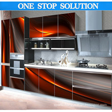 U Shaped Modern 3D Effective Kitchen Cabinet