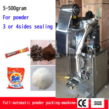 Empaquetadora automática vertical de la bolsa de polvo con Ce (Ah-Fjq100)