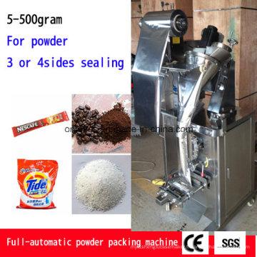 Échantillon * Machine à emballer de poudre de jus de trois ou quatre côtés scellant la machine de remplissage Ah-Fjj100