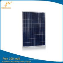 Высокая эффективность Поли солнечных модулей (ПМГ-100Вт)