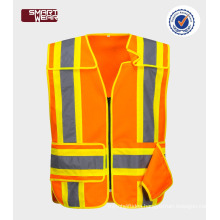 cheap orange reflective Hi Vis Safety Vest