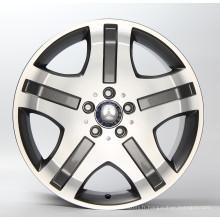 jantes en aluminium de voiture poplur roues de voiture 4x4 roue de voiture 5 * 112