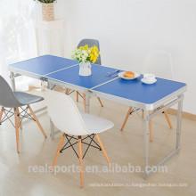 Niceway портфель высокого качества складной стол горячие продажи корейский металлический складной стол