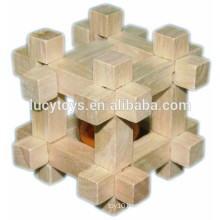 High Quality ot Sale Ball in Cube Brain Teaser Wooden Puzzle Game