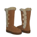 Women winter bailey button triplet warm fur boots