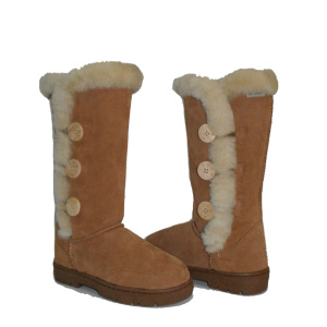 Professional for Womens Winter Boots,Womens Leather Winter Boots,Womens Waterproof Snow Boots Manufacturer in China Women winter bailey button triplet warm fur boots export to France Metropolitan Manufacturers