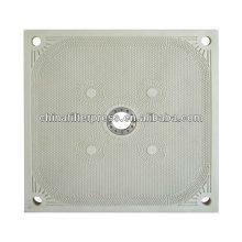 Plaque filtrante de chambre de haute pression de pp