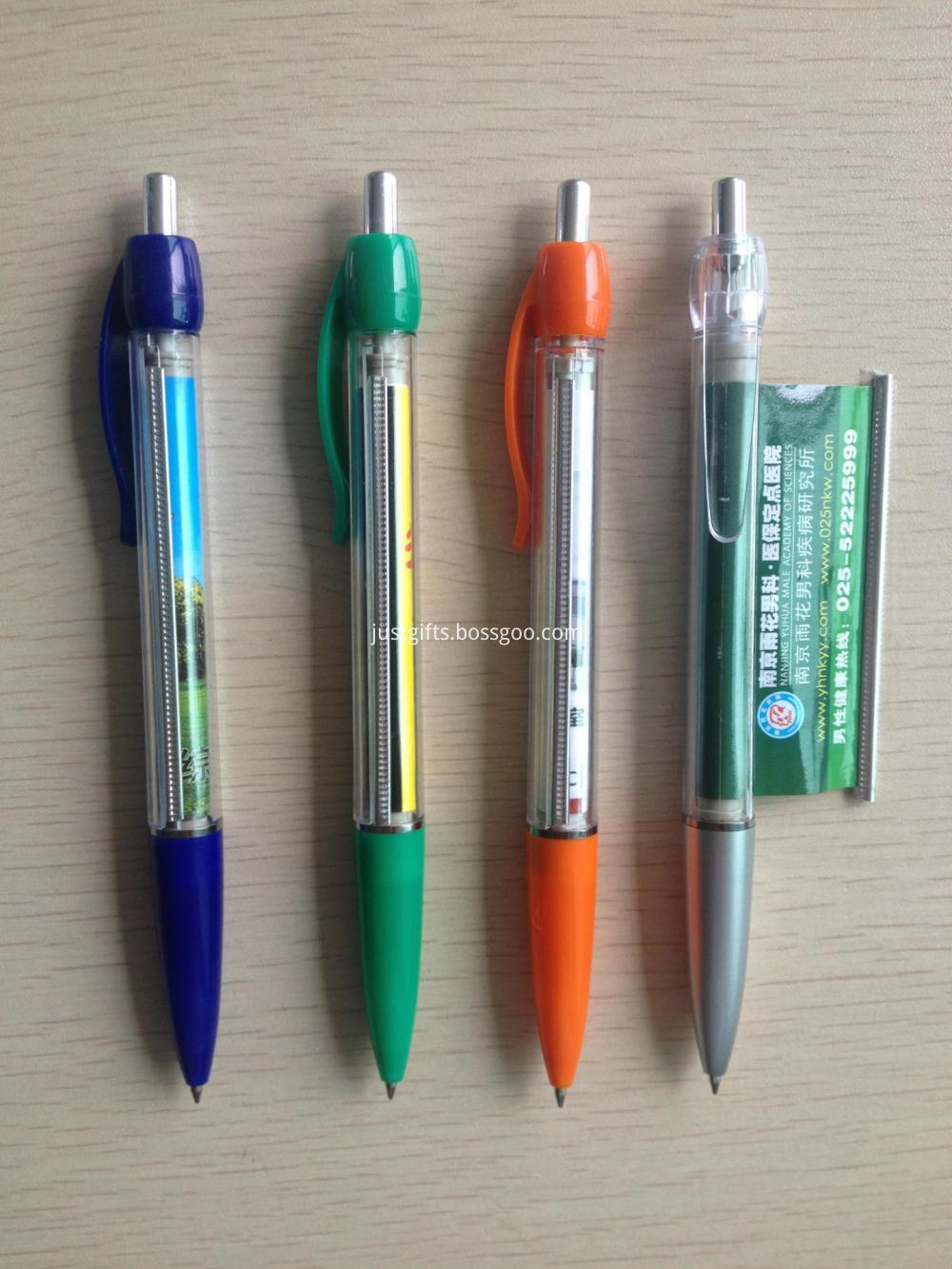 Promotional Logo Imprinted Banner Pens
