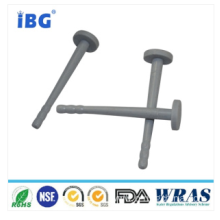 Food Grade Silicone Grey Rubber Plug