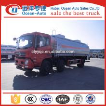 China New 21.5 CBM Oil Tanker Truck Fuel Tank Truck