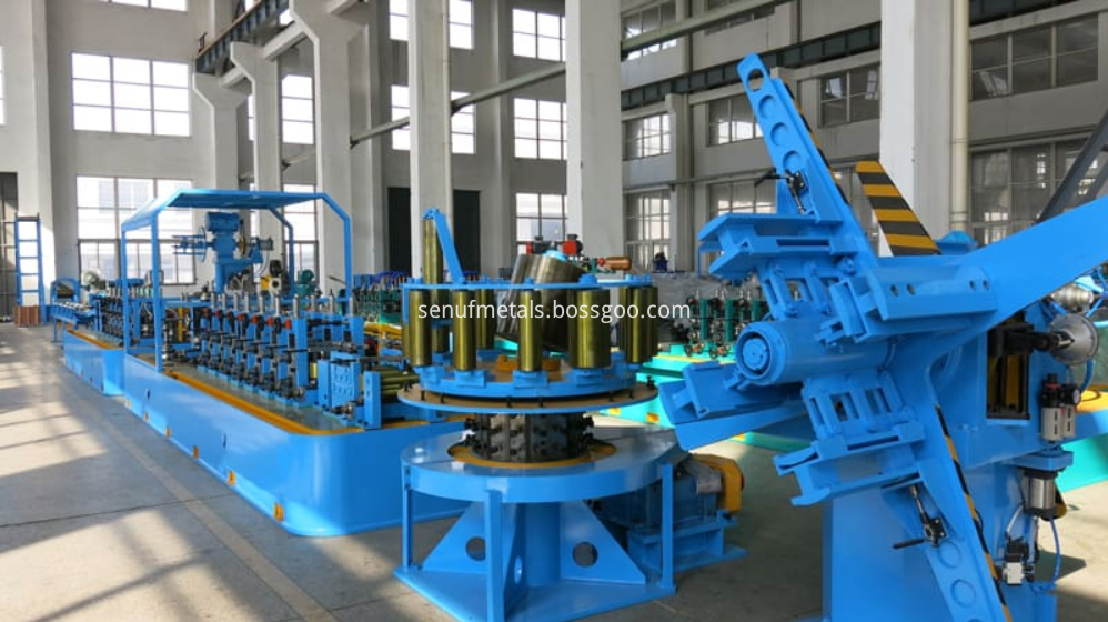 High frequency ERW direct Tube mill line (2)