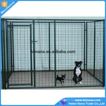 Chenilles de chien de maille de fil de taille standard des USA et du Canada / cage de grand chien à vendre