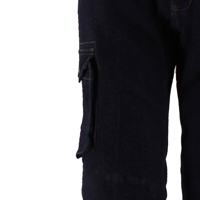 Man's Autumn Black Long Pants