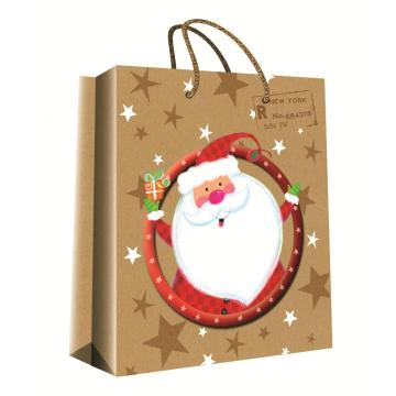 CHRISTMAS SERIES KRAFT GIFTBAG2-0