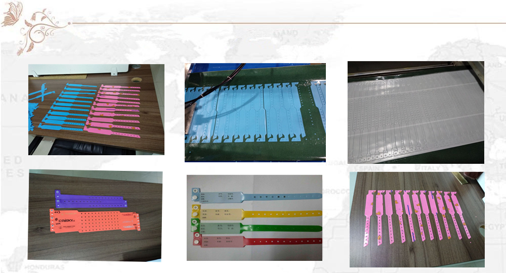 PVC wristband medical making machine