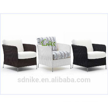 SS-(104) outdoor synthetic rattan leisure patio furniture single sofa