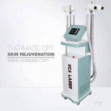 Machine de serrage de peau fractionnée verticale de rf d'Aribaba pour l'enlèvement de cicatrice, resurfaçage de peau, enlèvement d'acné