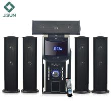 Home theater audio karaoke speaker system kits