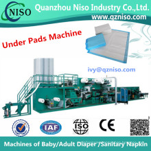 Non Woven Incontinence Medical Hospital Disposable Underpad Machine Factory (CD220-SV)