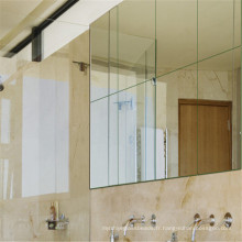 Mur / Salle de bain / Miroir en verre peint avec du miroir Fabricant