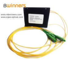 1X2 Fiber Optic Cassette Plc Splitter Coupler