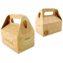 Boîte décorée de cadeau de papier de conception de fantaisie de fantaisie