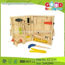 2015 Nuevo juego de madera del carpintero de los niños, sistema de madera popular del carpintero, venta caliente Sistema de madera del carpintero