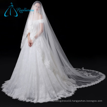 Lace Appliques Long Cathedral Tulle Wholesale Chapel Wedding Veil