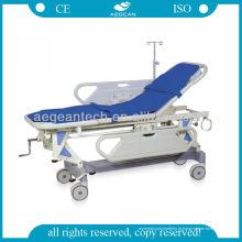 Preços modernos da maca do hospital das funções do ABS 4 do hospital AG-HS002