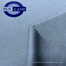 Tela de malha 100% do ilhó do ajuste seco do íon da prata do poliéster para o vestuário