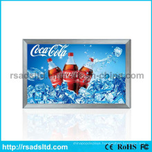 Aluminum LED Textile Fabric Light Box