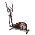 Red Home Manual Elliptical Trainer with bottle cage