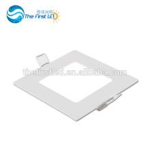 6W CE ROHS Aprobado SMD2835 cuadrado llevó el panel de techo de iluminación blanco cálido / blanco / fresco blanco