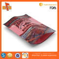 Acceptez la commande personnalisée et l'impression de gravure sur le marché des sacs mylar personnalisés avec ziplock