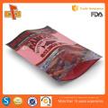 Aceitar encomenda personalizada e impressão de gravura stand up personalizado mylar sacos com ziplock
