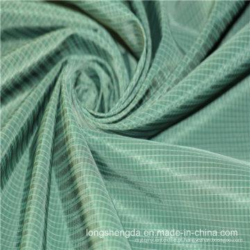 Tecido Twill Plaid Plain Check Oxford exterior Jacquard 100% tecido de poliéster (X045)