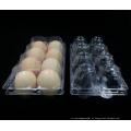 Supermercado Clear Blister caixa de plástico para ovos (bandeja de ovo de PVC)
