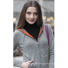 Women′s Fashion Cardigan Cashmere Sweater (1500002066)